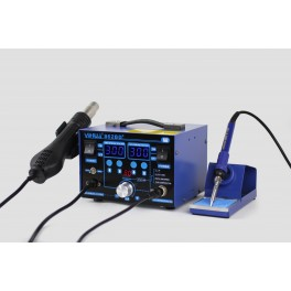YIHUA 862BD+ SMD HOT AIR REWORK STATION WITH SOLDERING IRON NEW 220V