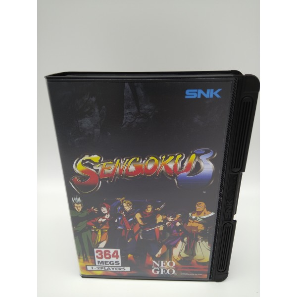 SENGOKU 3 USA VERSION CONVERSION NEO GEO AES NEW - JAPANGAMEONLINE COM