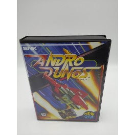 ANDROS DUNOS JAPAN VERSION NEO GEO AES CONVERSION