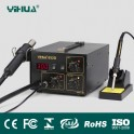YIHUA 852D HOT AIR REWORK STATION WITH SOLDERING IRON NEW 220V