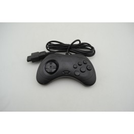 SEGA SATURN CONTROLLER BLACK COMPATIBLE NEW