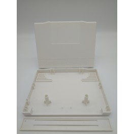 PLASTIC SHELL NEO GEO AES CART WHITE COLOR NEW